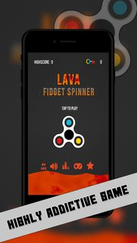 Fidget Spinner Switch- The Floor is Lava poster