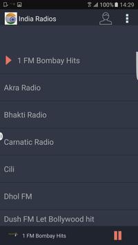 India Radios screenshot 1
