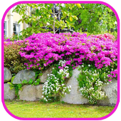 Garden Design and Flowers Tile Puzzle icon