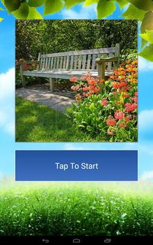Garden Design and Flowers Tile Puzzle apk screenshot