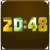 Animated Digital Clock Magic icon