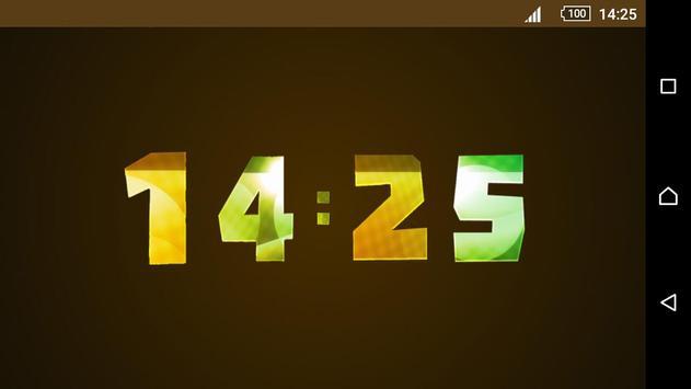 Animated Digital Clock Magic screenshot 3