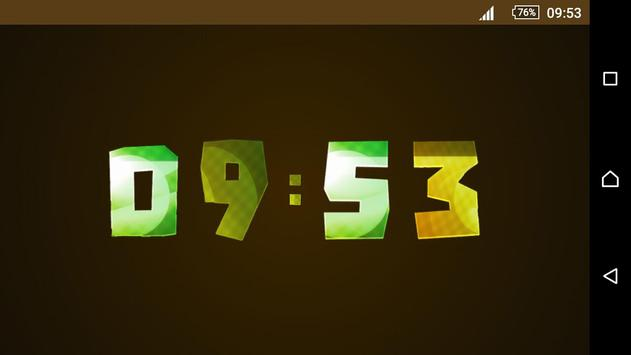 Animated Digital Clock Magic screenshot 1