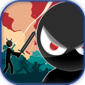 Apocalypse Runner Stickman icon