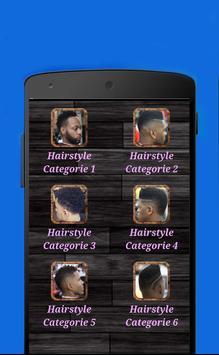 Black Men Hairstyles 2018 screenshot 1