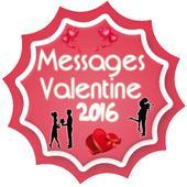 Messages Valentine 2016 icon