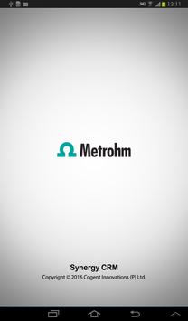 Metrohm CRM apk screenshot