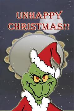 Grinchbourine-Spoil Christmas poster