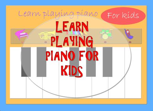 Piano for kids. Learning. apk screenshot