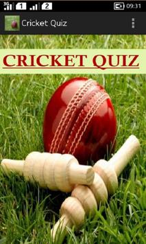 Cricket Quiz poster