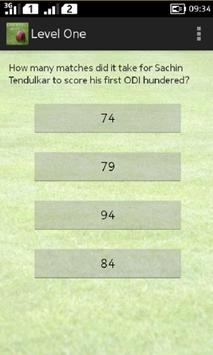Cricket Quiz apk screenshot