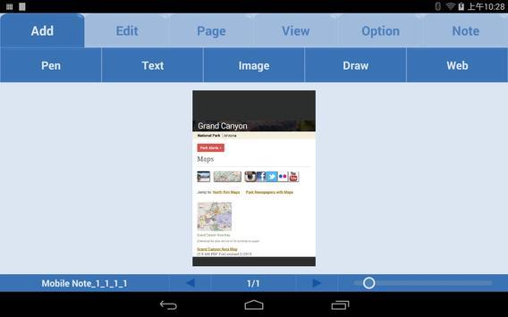 Mobile Note Free apk screenshot