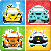 Авто памяти игра для детей иконка