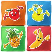 Frutas jogo para crianças ícone