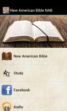 New American Bible NAB poster
