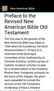 New American Bible NAB apk screenshot