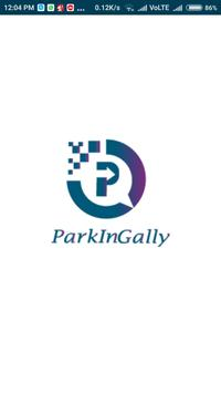 ParkInGally Parking Solution poster