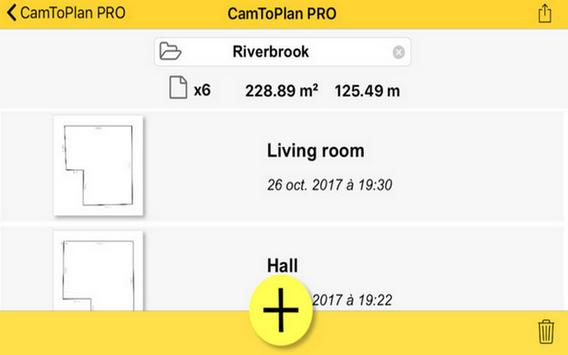 CamToPlan PRO for Android app Advice screenshot 1