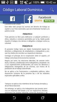 Código Laboral Dominicano screenshot 2