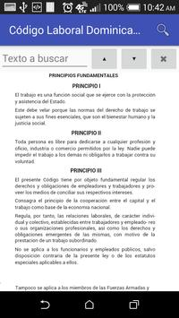 Código Laboral Dominicano screenshot 3