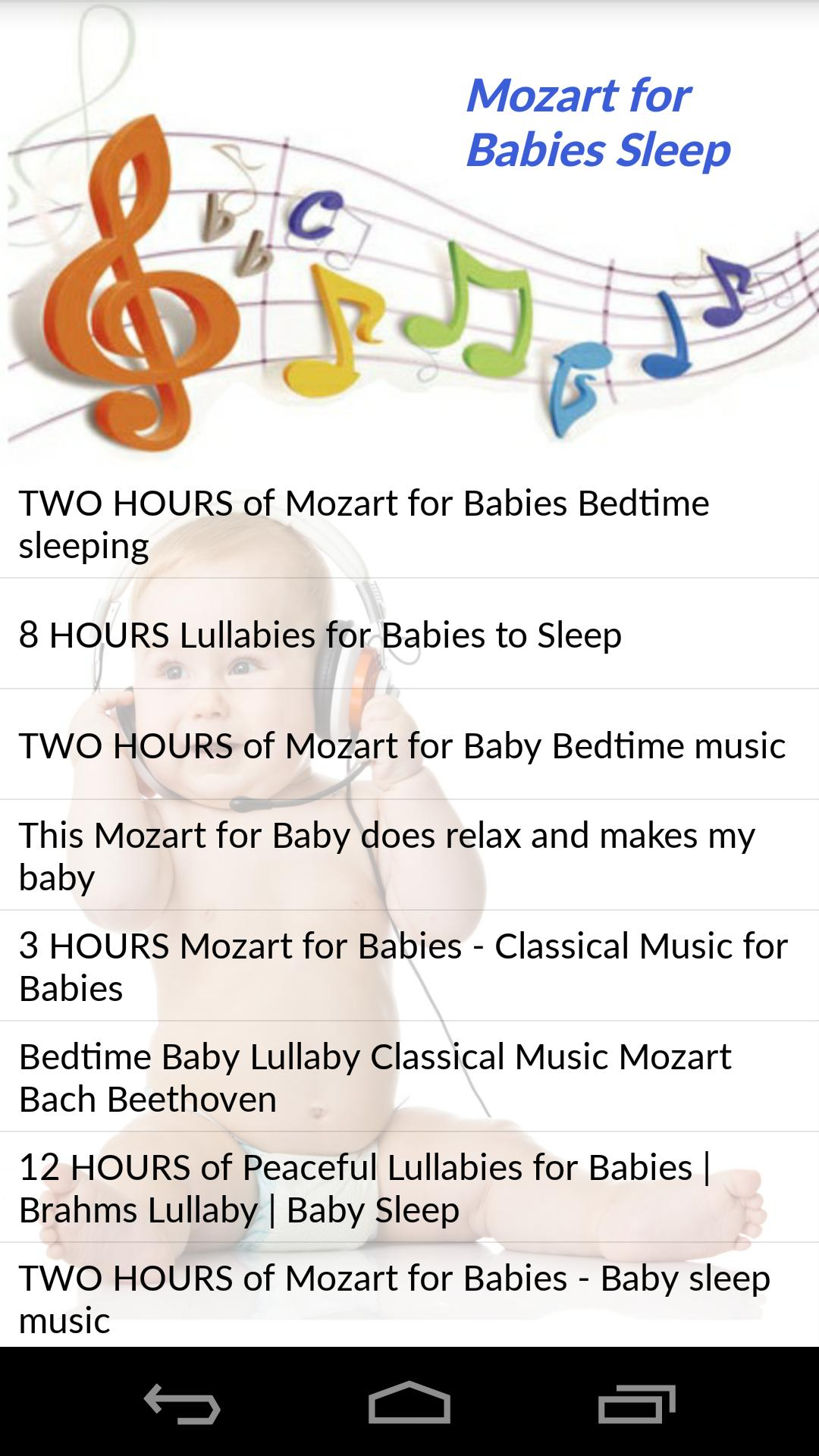 Mozart for Babies Sleep for Android - APK Download