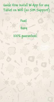 How Install Wa-App for Tablets apk screenshot