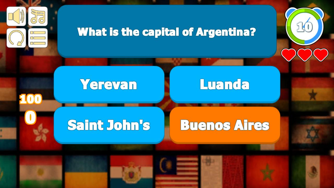 Flag Capital Quiz Game for Android - APK Download