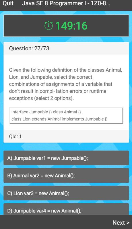 Java 8 Certification Exam for Android - APK Download