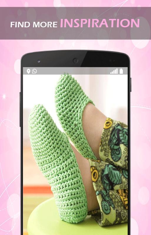 Crochet Pattern Slippers Descarga APK - Gratis Arte y Diseño ...