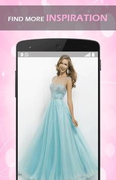 Pretty Evening Gown Designs screenshot 1