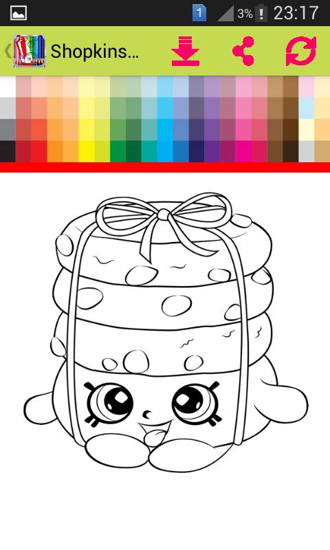 Coloring Pages Shopkins Kids APK Baixar