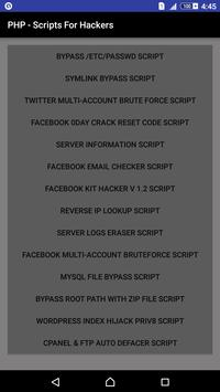 PHP - Scripts For Hackers poster