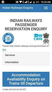 Rail Ticket poster