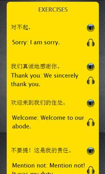 Chinese to English Speaking: Learn English App poster