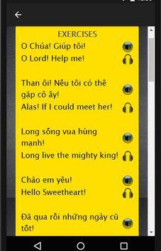Vietnamese to English Speaking poster