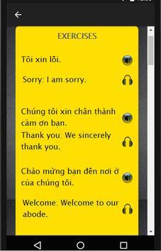 Vietnamese to English Speaking screenshot 1