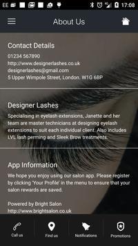 Designer Lashes apk screenshot