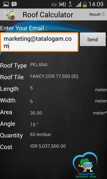 Roof Calculator screenshot 2
