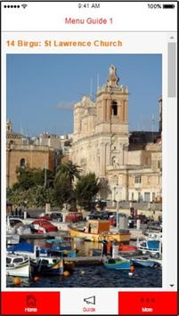Malta Valletta Harbour Guide apk screenshot