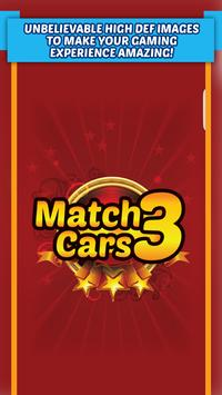 Match 3 Cars - FREE Match 3 Puzzle Game poster