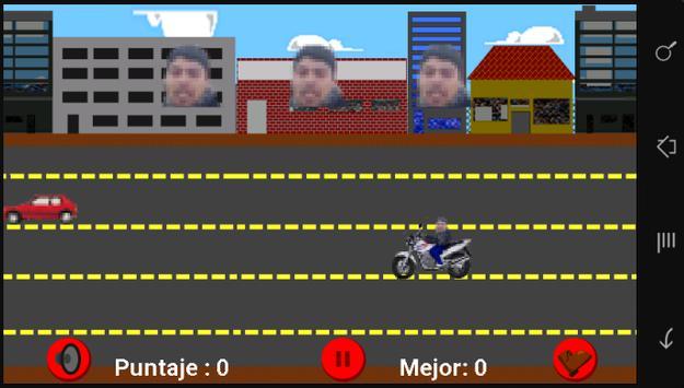 Aplasta Moto Chorros apk screenshot