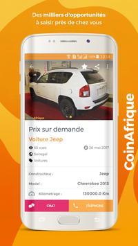 CoinAfrique petites annonces apk screenshot