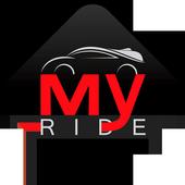 My ride - passenger icon