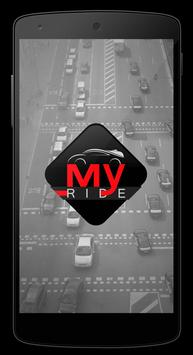 My ride - passenger poster