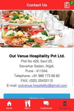 Outvenue Hospitality apk screenshot