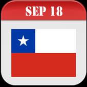 Chile Calendar 2018 icon