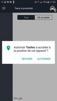 Taxiloc apk screenshot