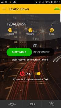 Taxiloc Driver screenshot 1