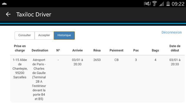 Taxiloc Driver screenshot 7