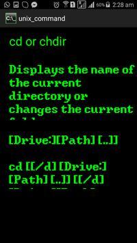 Dos Commands apk screenshot